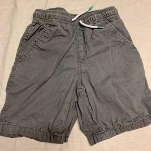 Size 5 grey jogger shorts. Cat and jack